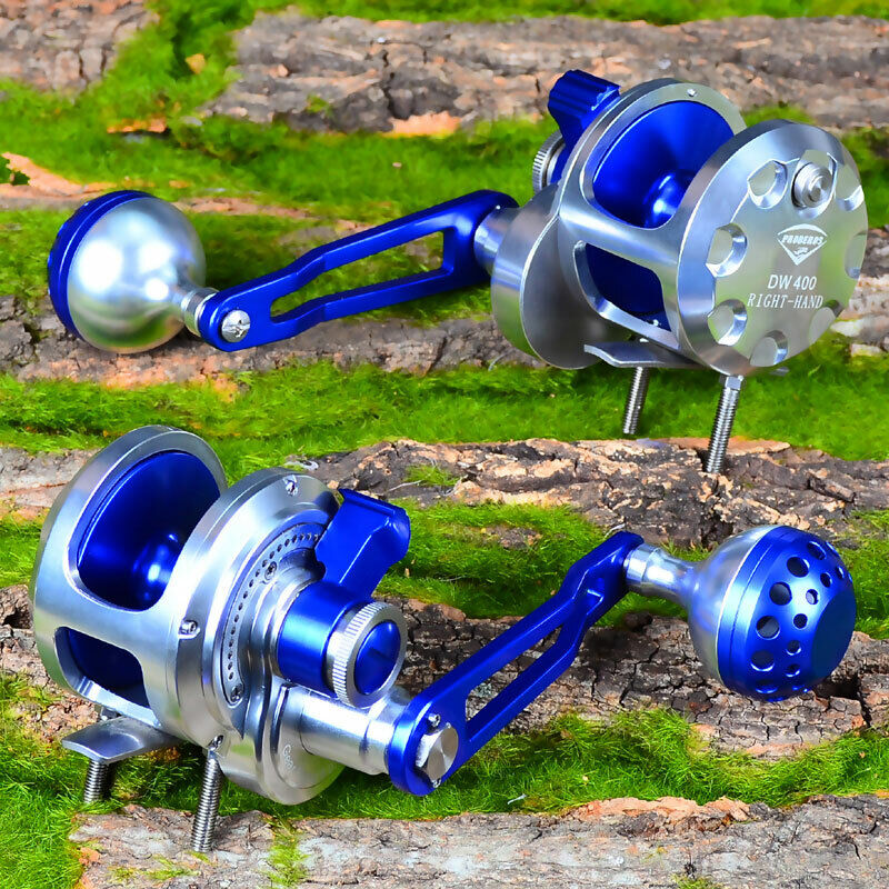 Proberos aluminum cnc machined fishing reel jig reel for Fishing pole reel