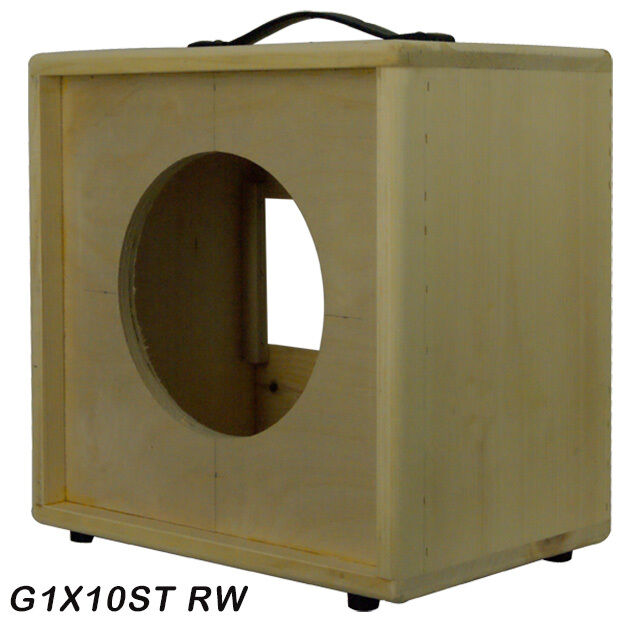 1x10 Solid Pine Raw Wood Extension Guitar Speaker Empty Cabinet G1x10st Rw Ebay
