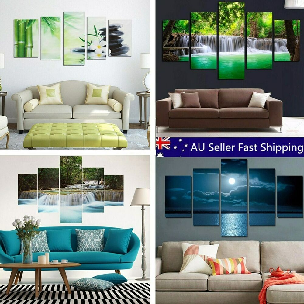 Large Modern Canvas Oil Painting Picture Print Wall Art ...