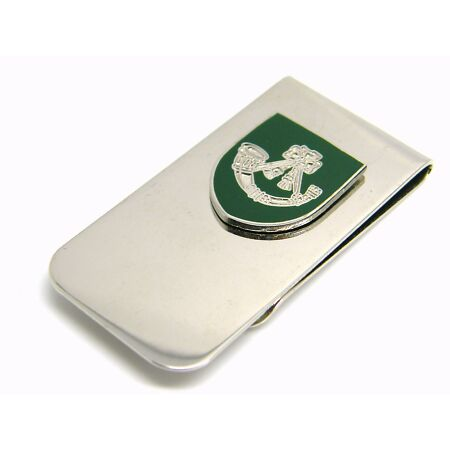 img-THE LIGHT INFANTRY BADGE MONEY CLIP ARMY MILITARY GIFT IN POUCH