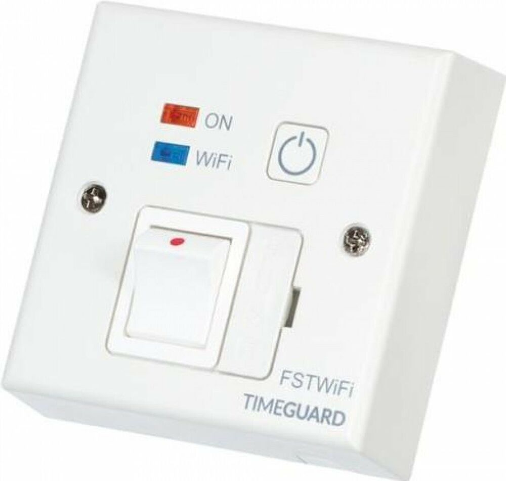 Timeguard Fstwifi Wifi Controlled 13a Fused Spur Timeswitch Timer Junction Box Android Ios 5054172452735 Ebay