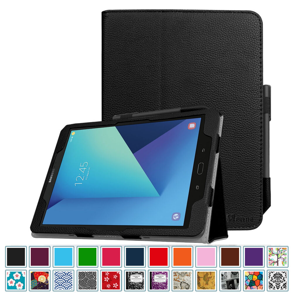 For Samsung Galaxy Tab S3 9.7 SM-T820 / T825 Leather Case