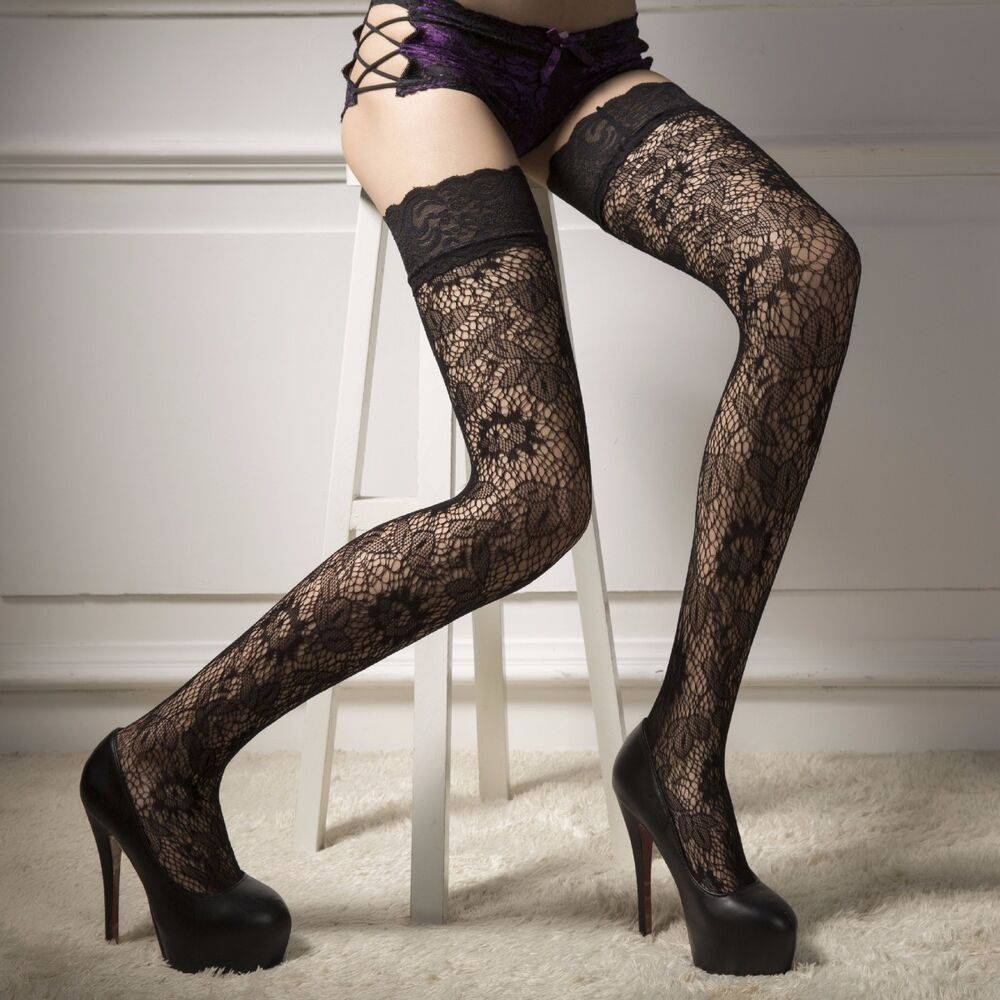 Sex with stockings on