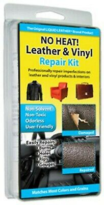 NO HEAT Liquid Leather Vinyl REPAIR KIT Fix holes, rips, burns-------brand new