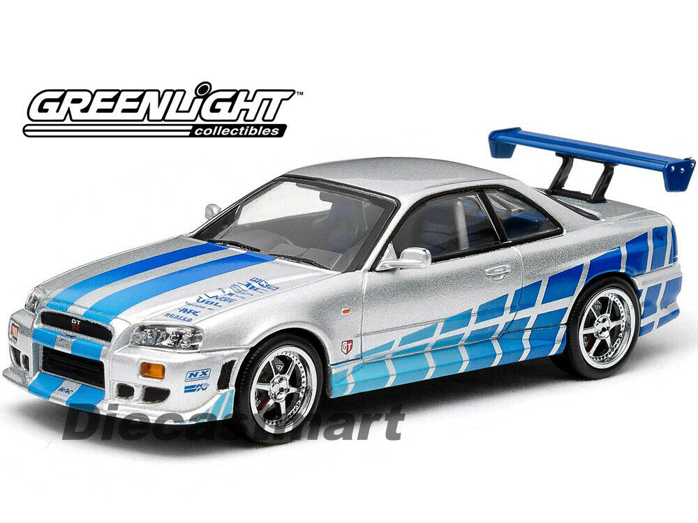 fast furious 2003 1999 nissan skyline gtr paul walker. Black Bedroom Furniture Sets. Home Design Ideas
