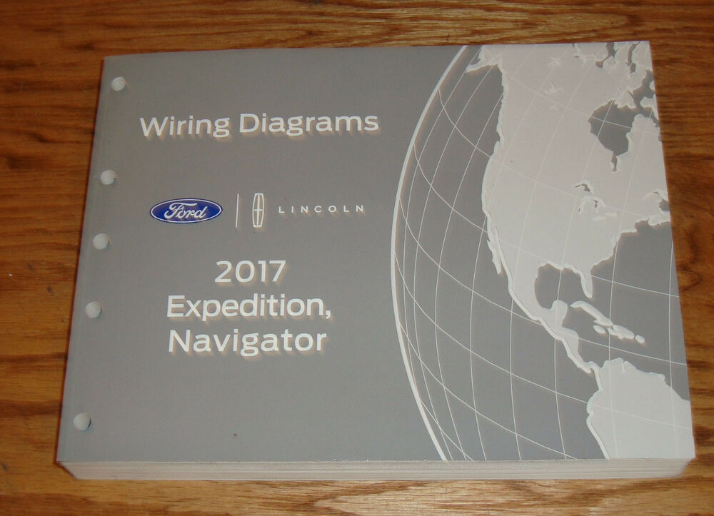 Original 2017 Ford Expedition Lincoln Navigator Wiring Diagrams Manual 17
