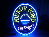 DESCHUTES BREWERY MIRROR POND PALE ALE NEON SIGN ON DRAFT RARE BEND OREGON LOOK