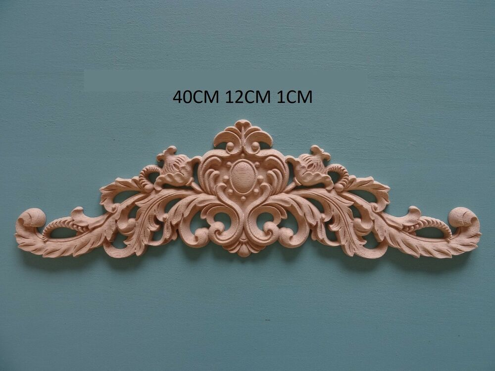 decorative wooden large centre appliques furniture