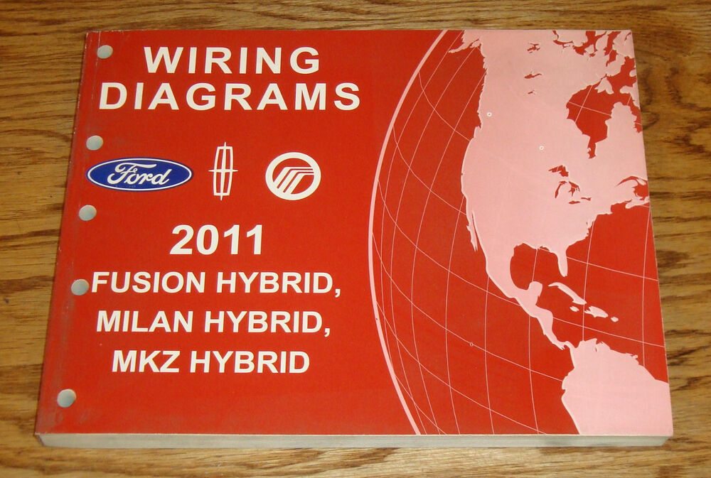 2011 Ford Fusion Mercury Milan Lincoln Mkz Hybrid Wiring Diagrams Manual 11