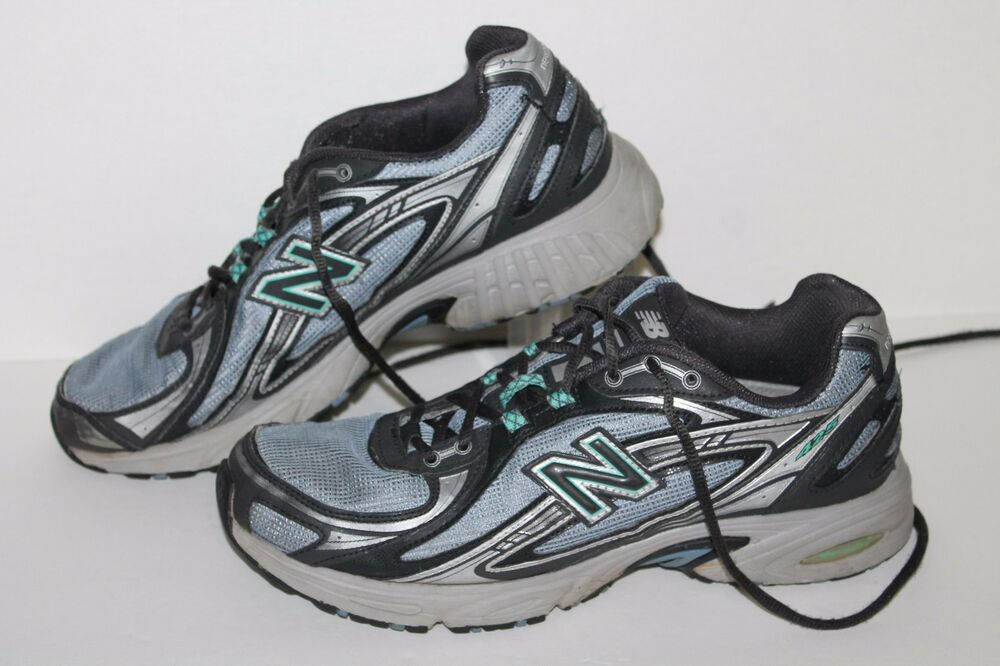 New Balance 425 Running Shoes #WR425TBN Grey/Teal Women's US Size 10