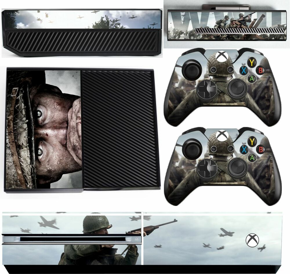 Call Of Duty Wwii Xbox One Textured Vinyl Protective
