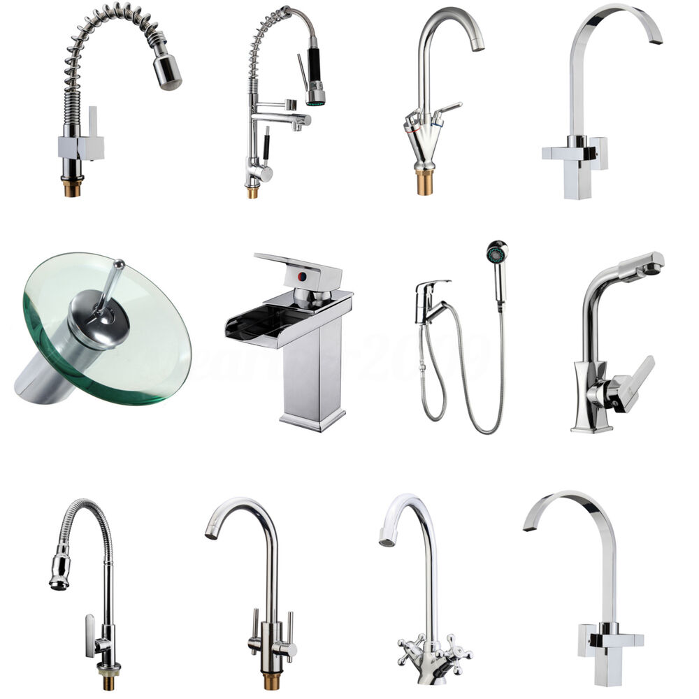 kitchen faucets uk bathroom kitchen sink lever mixer tap pull out swivel 13251