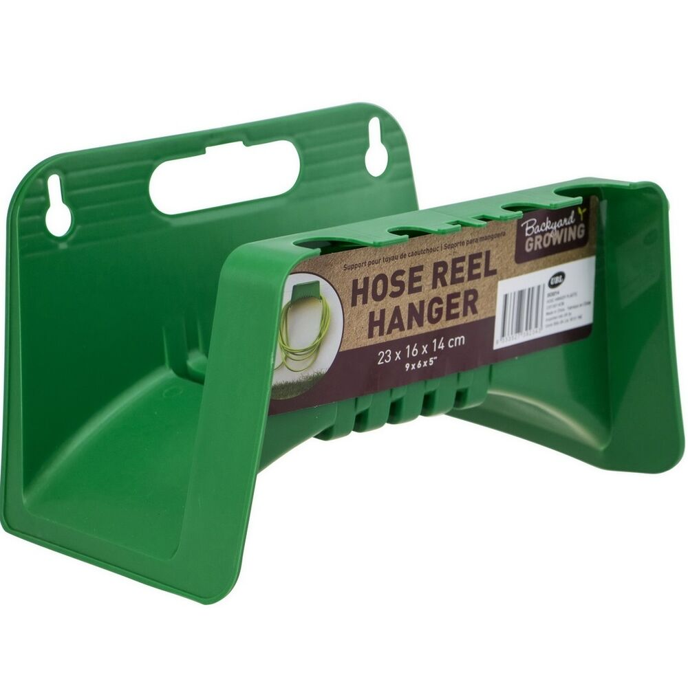 Wall Mounted Garden Hose Pipe Holder Bracket Cable Storage