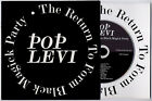 """POP LEVI Return To Form Black Magick Party promo CD with 7"""" picture sleeve"""