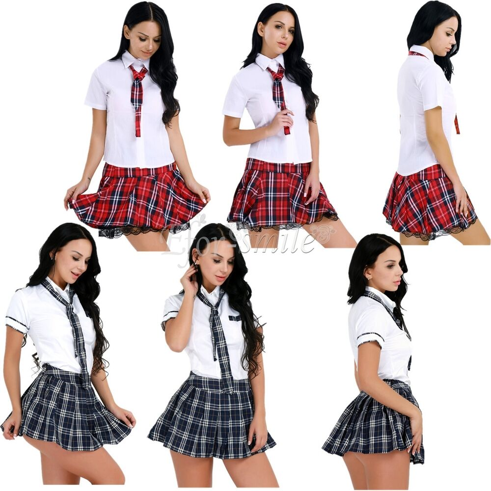 Uk Schoolgirl Uniform Costume Sexy Women Naughty Student -5857