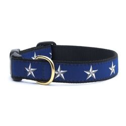 Up Country - Dog Puppy Design Collar -Made In USA - North Star - XS S M L XL XXL
