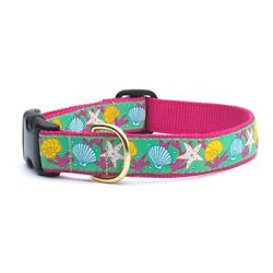 Up Country - Dog Design Collar - Made In USA - Reef - XS S M L XL XXL
