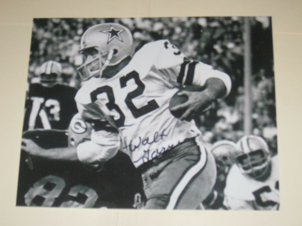 86b130f7fcb Details about Dallas Cowboys WALT GARRISON Signed 8x10 Photo NFL AUTOGRAPH 1