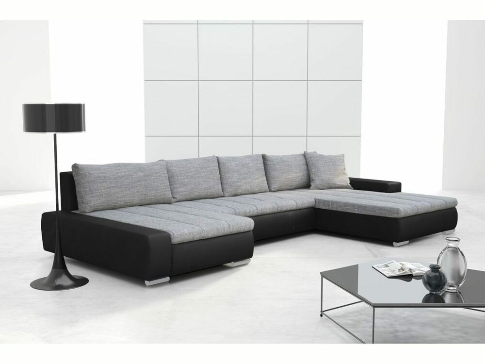 wohnlandschaft cayenne sofa mit schlaffunktion bettfunktion ecksofa couch pk002 ebay. Black Bedroom Furniture Sets. Home Design Ideas