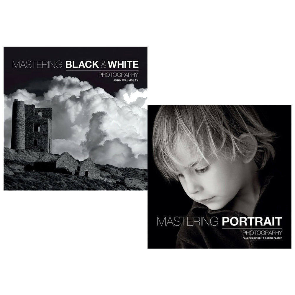 Details about mastering black white photography 2 books collection set portrait photography