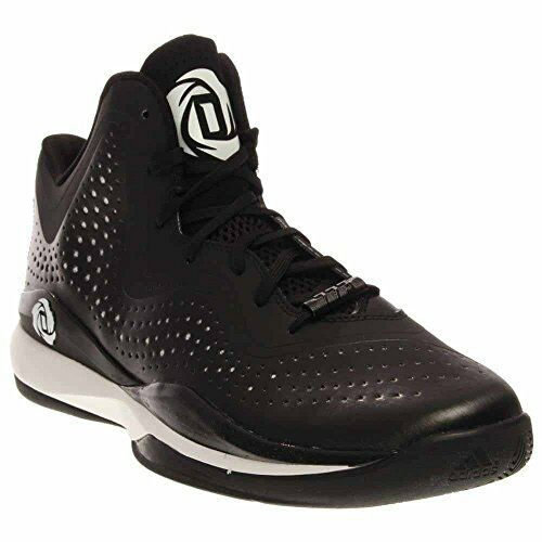 new concept 7371c 100b8 Details about NEW ADIDAS D ROSE 773 III MENS BASKETBALL SHOE C75721 BLACK WHITEBLACK SIZE 5