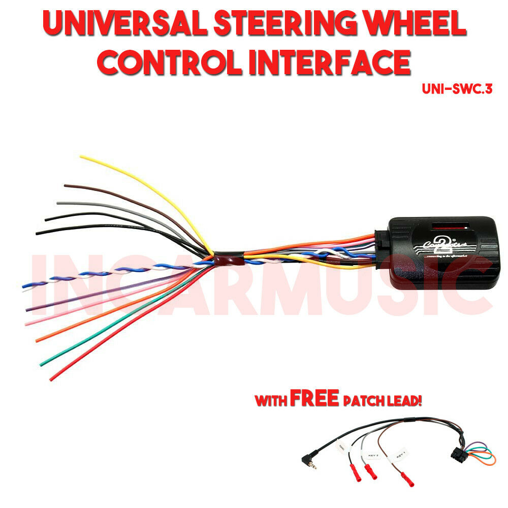 Other Car A/v Installation Vehicle Electronics & Gps Steering Wheel Stalk Control Interface Adaptor Lead For Mazda 2 Spare No Cost At Any Cost