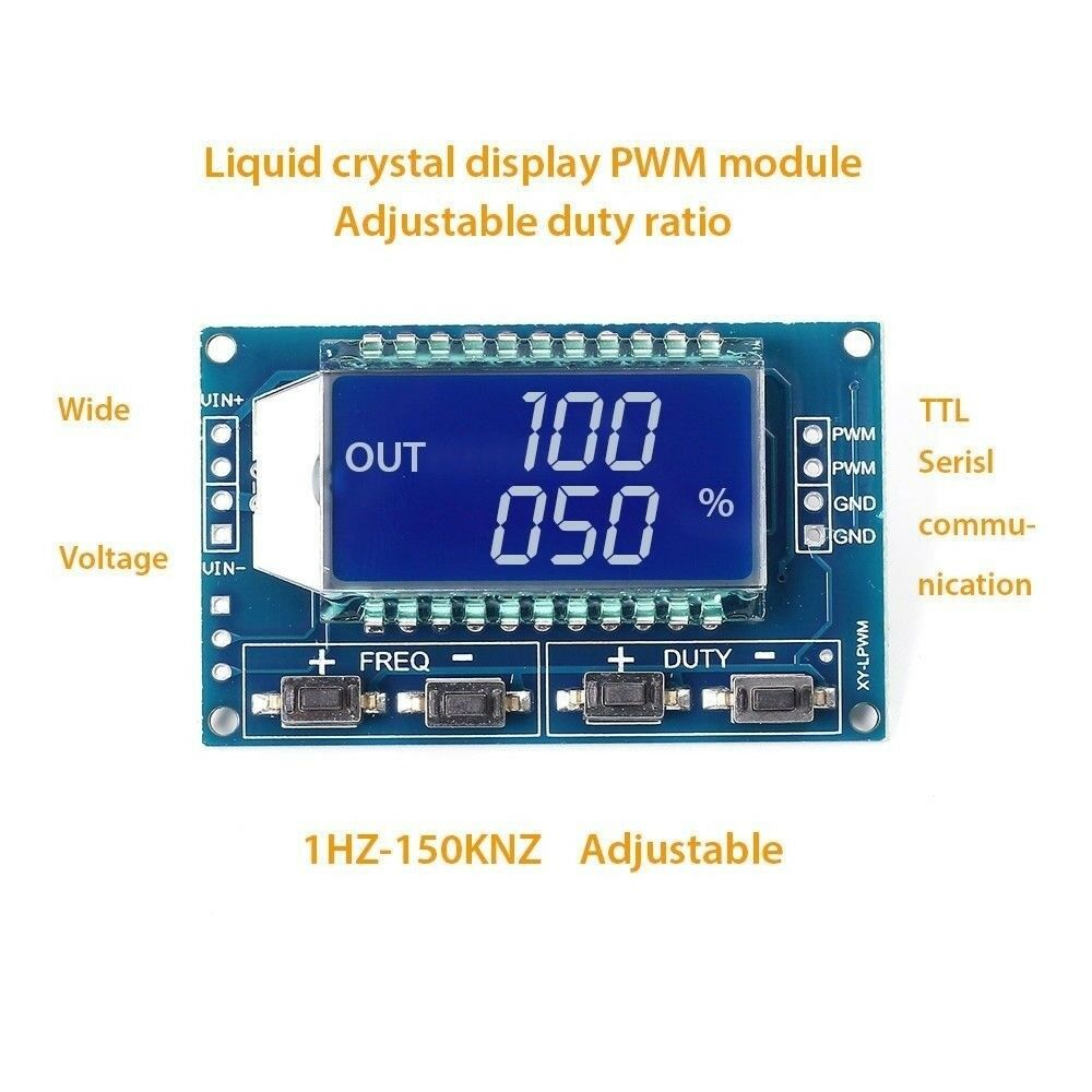 Pwm Pulse Frequency Duty Cycle Adjustable Module Signal Generator Inductor Coil For Tv And Camera Buy Power Coilinductor Lcd Display 871589544458 Ebay