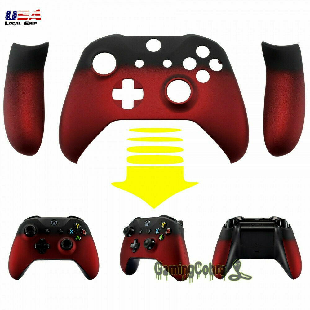Image Is Loading Custom Cover Shadow Red Panels Front Shell For