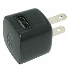 ❤ Blackberry Hdw-24481-001 Universal Usb Wall Home Power Adapter Plus For All Sm