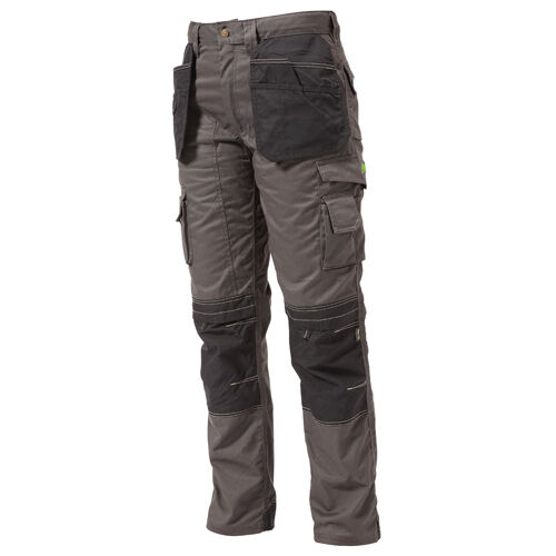 APACHE APKHT Work Trousers With Holster Pockets (Grey/Black)