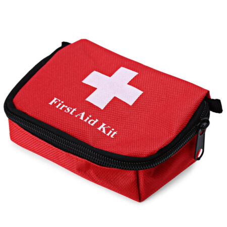 img-Outdoor Hiking Camping Survival Travel Emergency First Aid Kit Rescue Bag New XJ