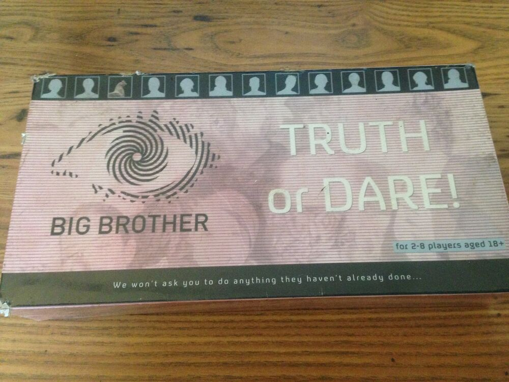 Big Brother Truth Or Dare Adult Party Board Game New -6224