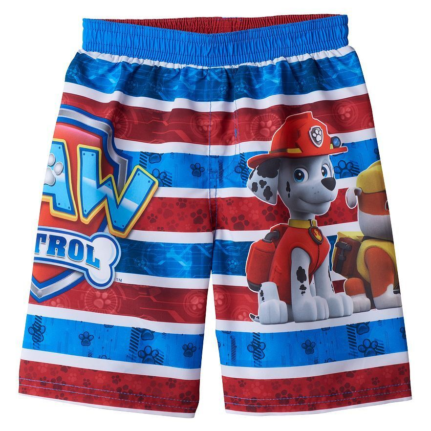 84bdade1ab421 Details about PAW PATROL MARSHALL UPF50+ Bathing Suit Swim Trunks Toddler  Sz. 2T, 3T or 4T $22