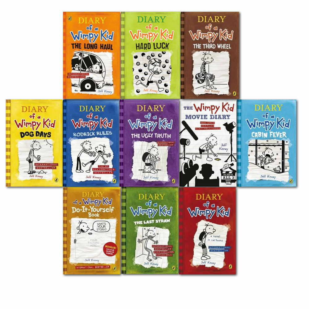 Diary of a wimpy kid collection 11 books set pack 1 11 by jeff diary of a wimpy kid collection 11 books set pack 1 11 by jeff kinney solutioingenieria Gallery