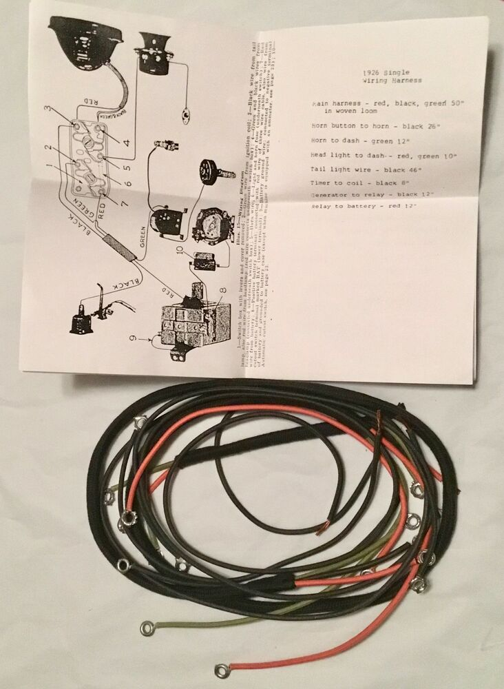 single wire harness wiring diagram