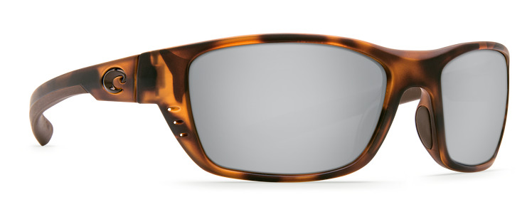 ddac7f4816 Details about COSTA DEL MAR WHITETIP POLARIZED WTP66 OSCP SUNGLASSES  TORTOISE SILVER 580P LENS