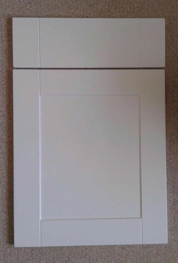Fpp Matt White Shaker Kitchen Cabinet Cupboard Doors Fit Howdens