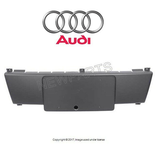 Audi A4 License Plate Frame: For Audi A4 A4 Quattro S4 License Plate Base Front Genuine