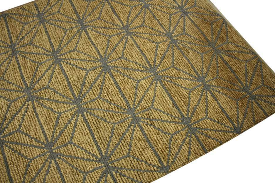 designer rug teppich 160x230 cm 85 jute 15 baumwolle handgewebt beige grau ebay. Black Bedroom Furniture Sets. Home Design Ideas