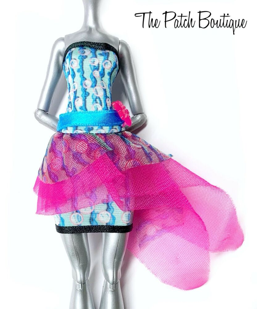 MONSTER HIGH LAGOONA BLUE DOT DEAD GORGEOUS DOLL OUTFIT REPLACEMENT ...