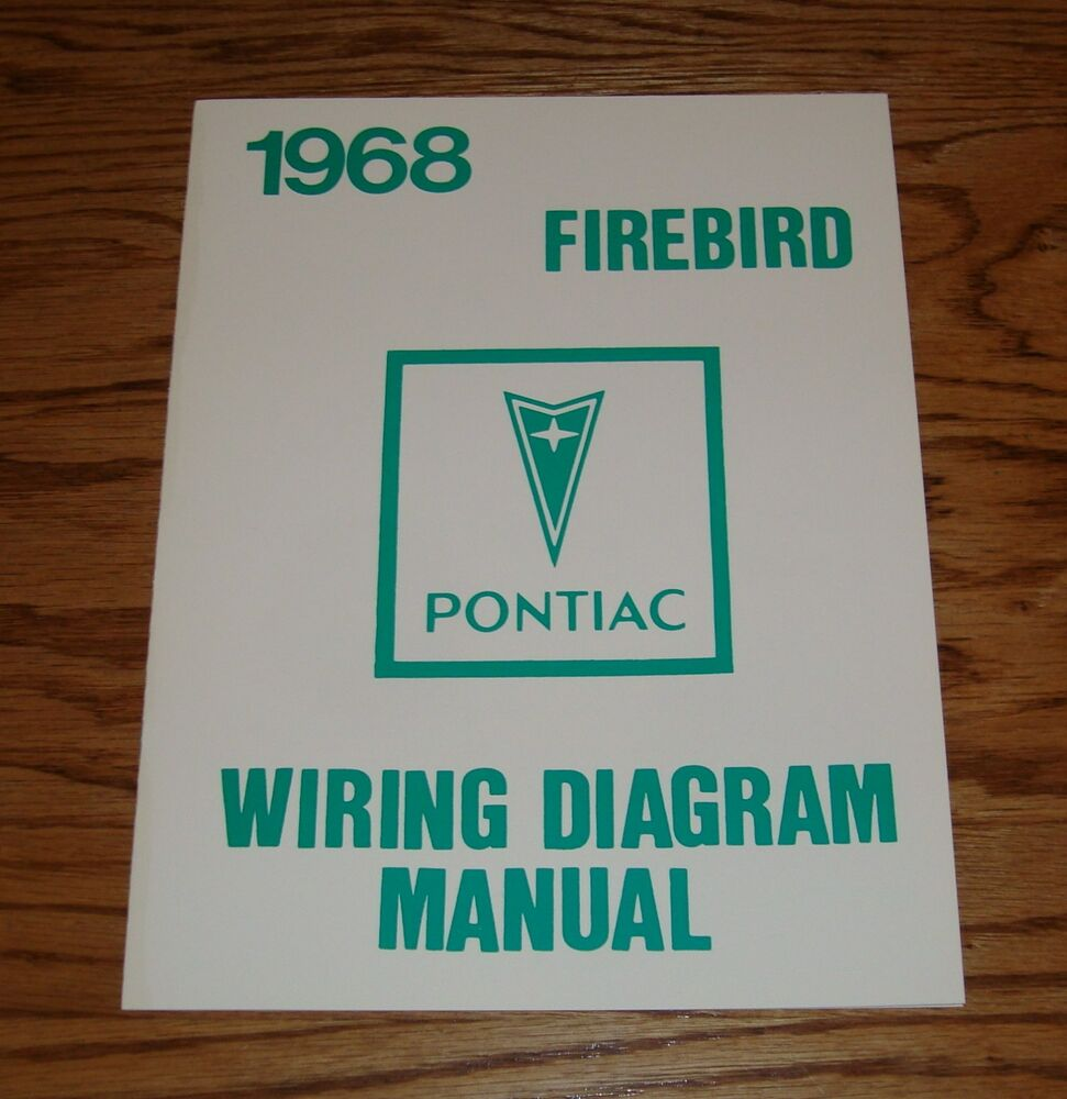 1968 Pontiac Firebird Wiring Diagram Manual 68 Ebay Mercury Cougar
