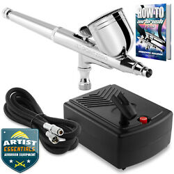 Kyпить Dual Action Airbrush Kit with Mini Compressor на еВаy.соm