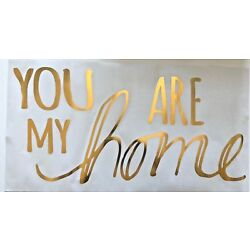 You are my Home Wall  Decals Decorations Decor  room  gold