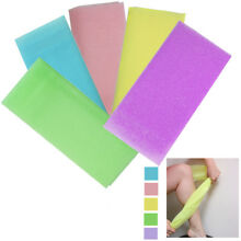 6 Japanese Exfoliating Cloth Body Beauty Wash Towel Scrubber Bath Cleaner Shower