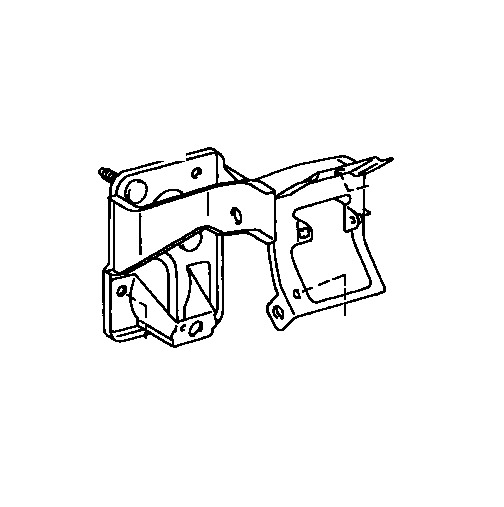 For Support Sub Assembly Clutch Pedal Genuine 55107 34030 For Toyota