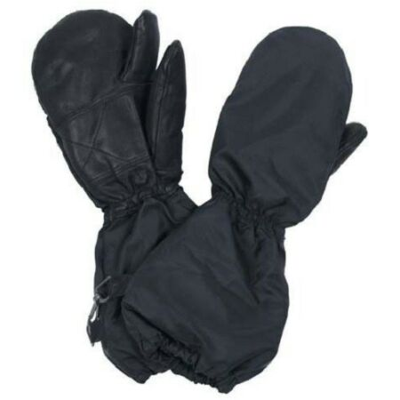 img-Genuine Swiss Army Leather Palmed Winter Gloves