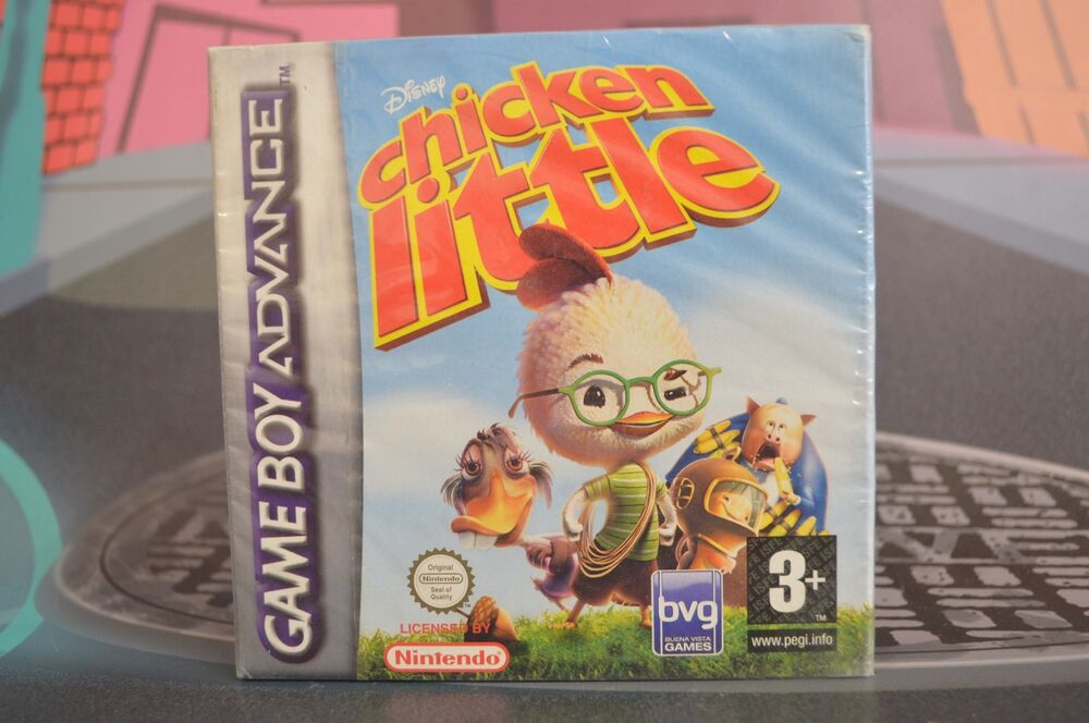 chicken little game boy