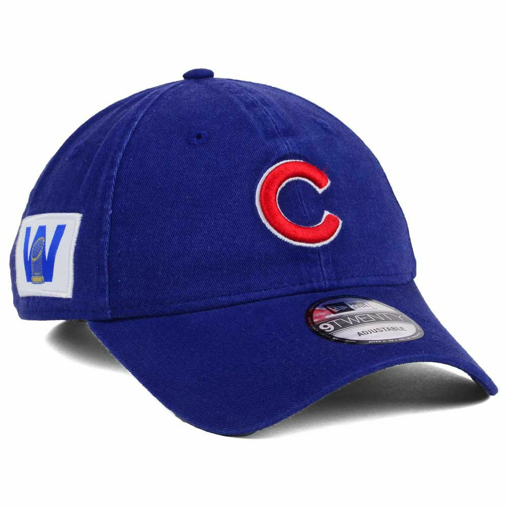 Details about Chicago Cubs MLB Win Flag World Series Trophy Patch Champions  New Era Cap Hat W 05ae2964278