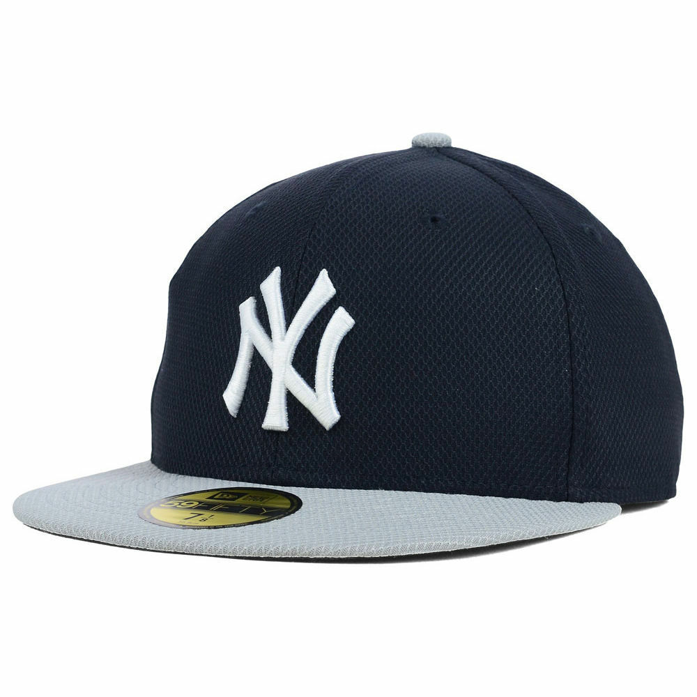 72b314ace Details about New York Yankees New Era MLB Diamond Era BP Game 5950 Flat  Bill Brim Hat Cap NY