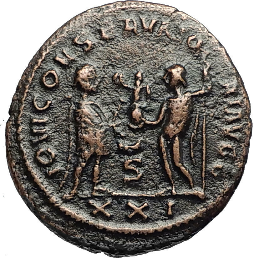 To Enjoy High Reputation In The International Market Ancient Roman Imperial Coin Diocletian Ae Post Reform Radiate
